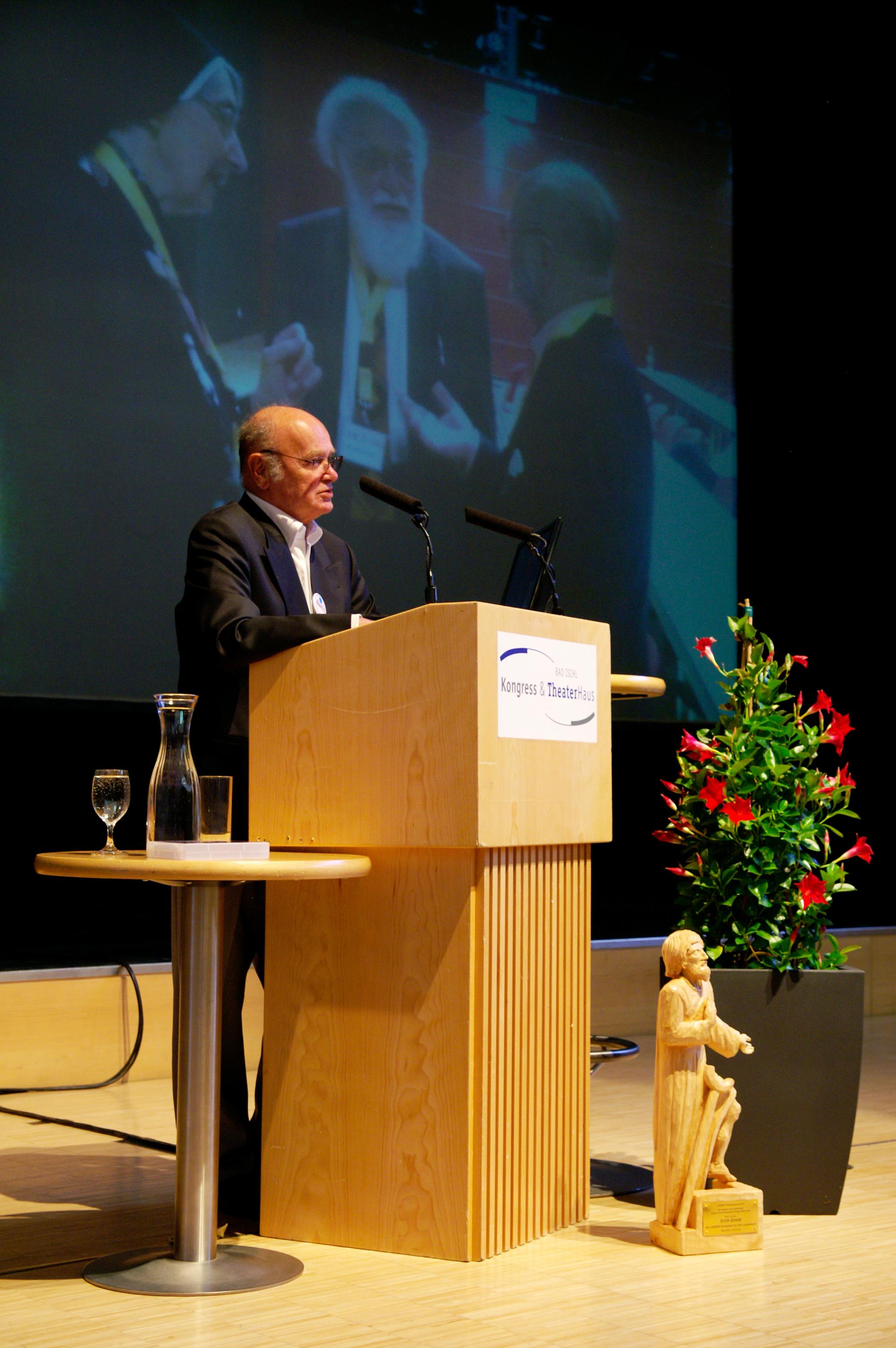 Prominenter Laudator: Prof. Erwin Böhm