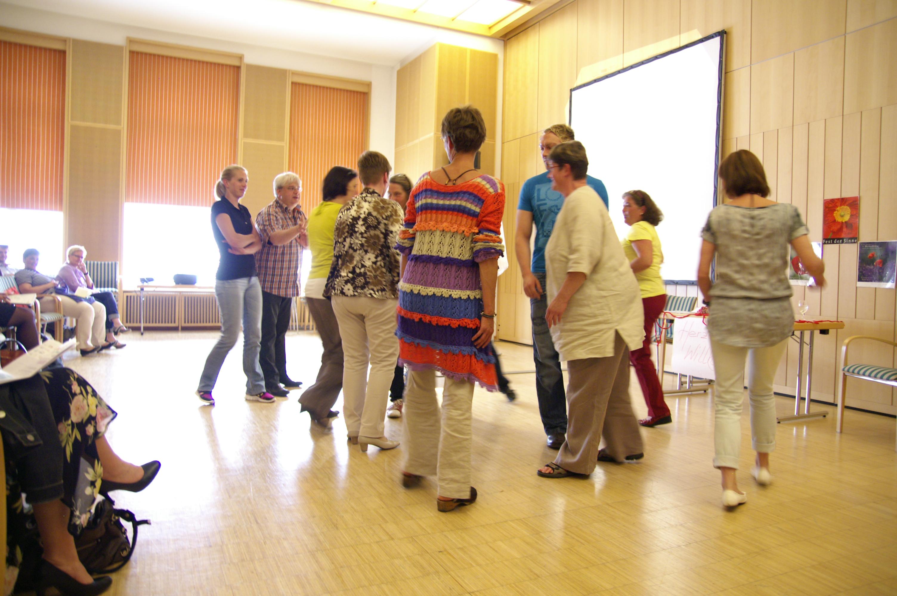 Bewegte Lernerfahrung für Führungskräfte