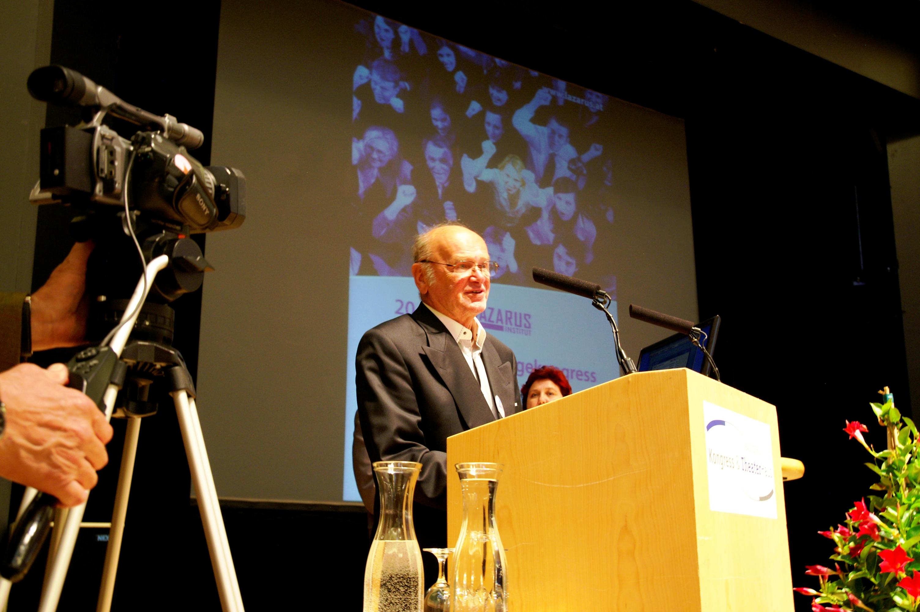 Prof. Erwin Böhm - Pflegeforschungspreis 2012