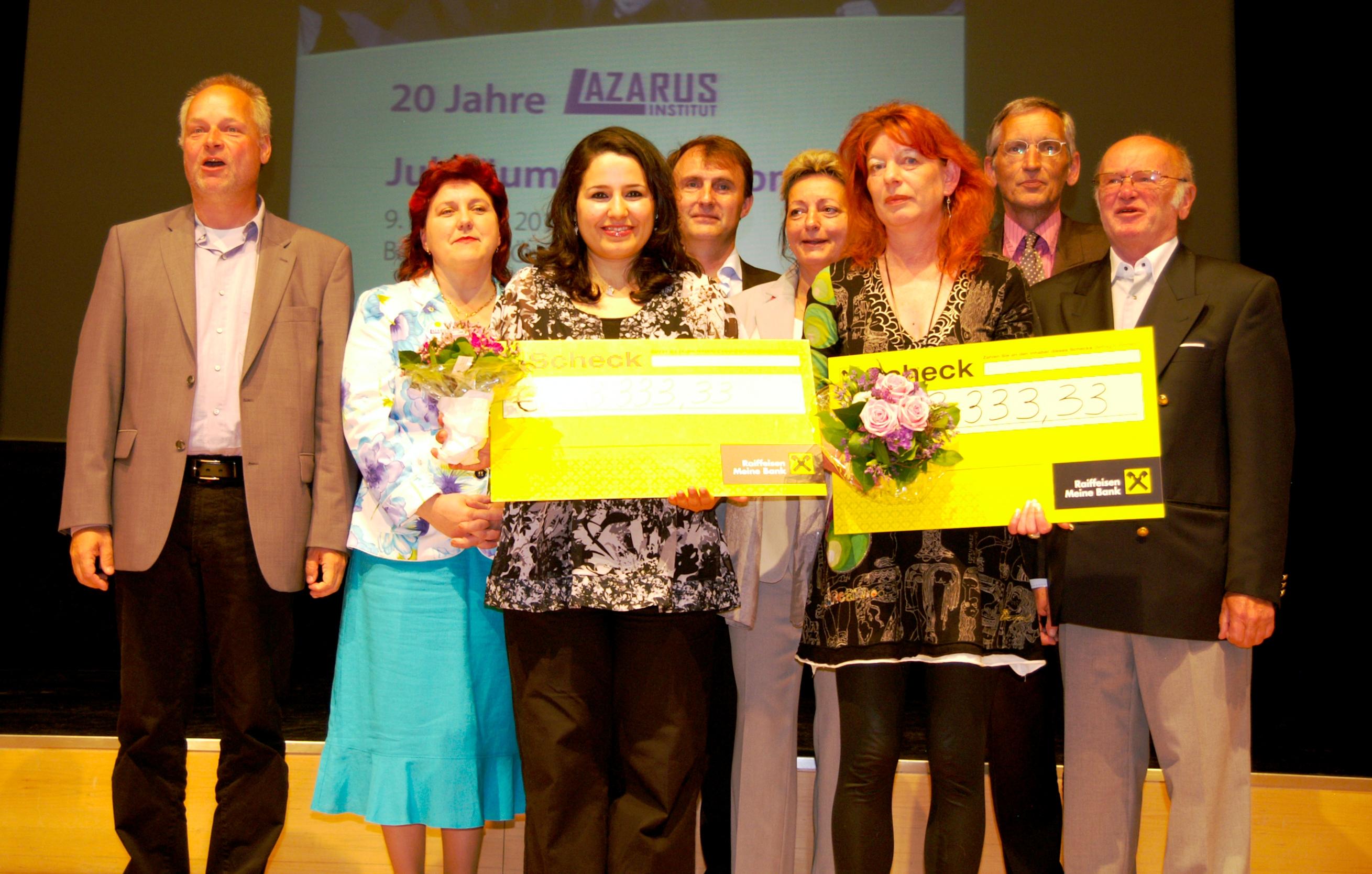 Preisträgerinnen und Fachjury des Böhm-Preises 2012